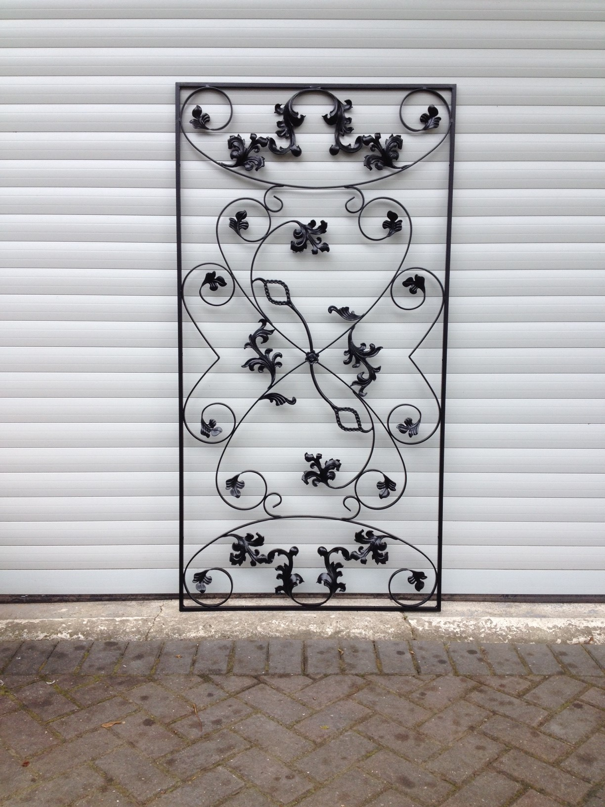 Decorative Wrought Iron Grilles From Qsec In Leeds